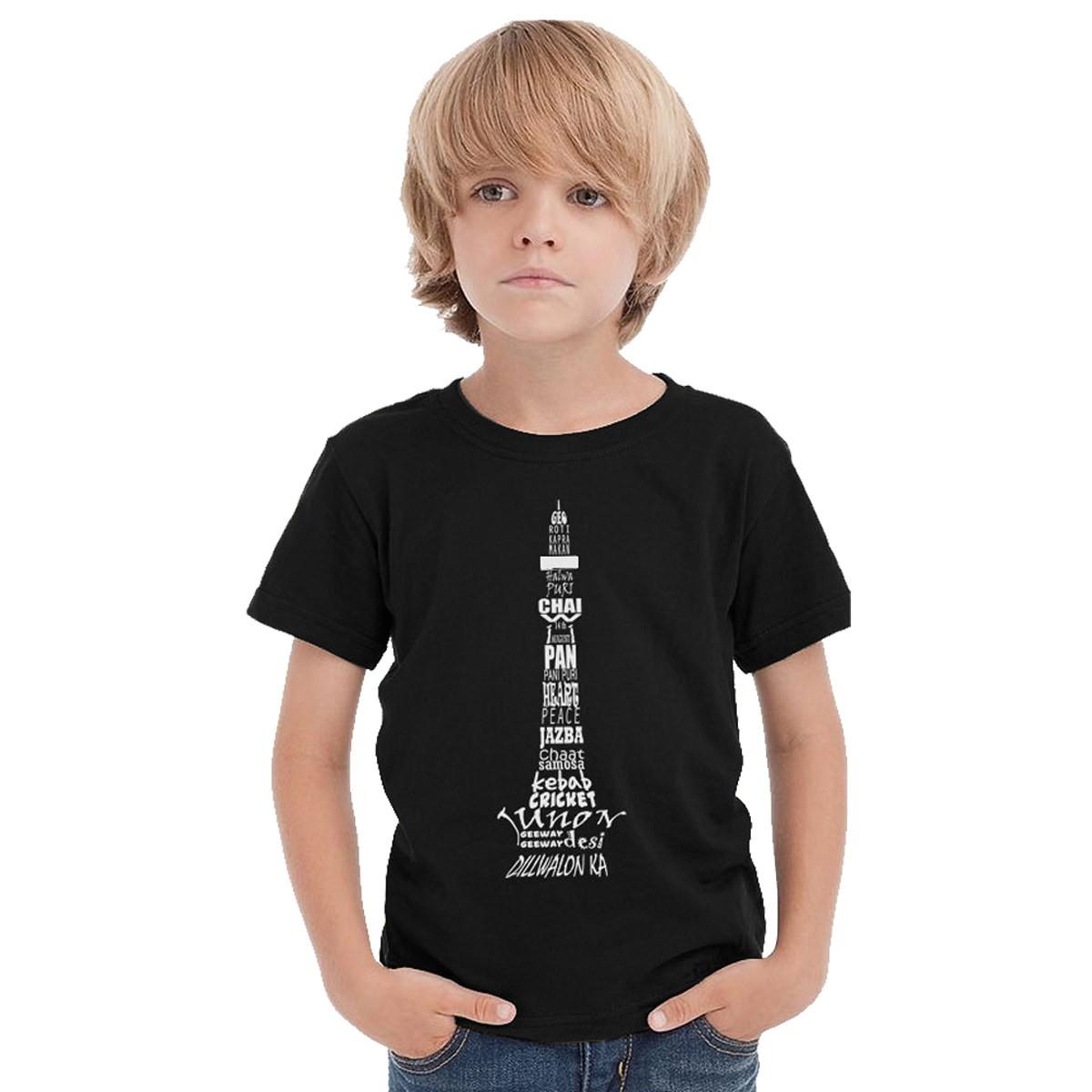 Kid t shirt m3 great lakes custom embroidery for Dark denim toddler shirt